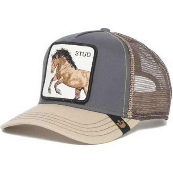 casquette-trucker-grise-cheval-you-stud-goorin-bros