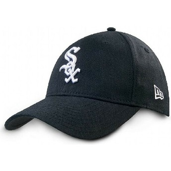 Casquette courbée noire ajustable 9FORTY The League Chicago White Sox MLB New Era