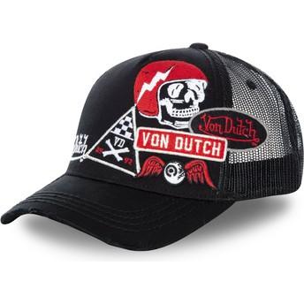 Casquette trucker noire MURPH2 Von Dutch