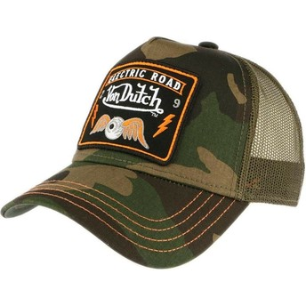 Casquette trucker camouflage SQUARE4 Von Dutch