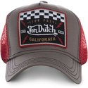 casquette-trucker-marron-et-rouge-square17-von-dutch