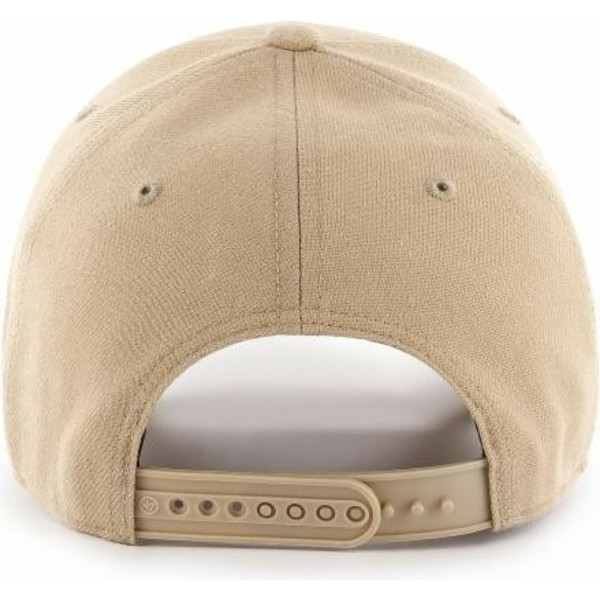 casquette-courbee-beige-snapback-new-york-yankees-mlb-mvp-47-brand