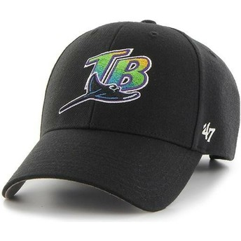 Casquette courbée noire Tampa Bay Rays MLB MVP 47 Brand