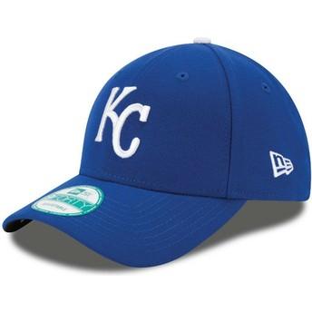 Casquette courbée bleue ajustable 9FORTY The League Kansas City Royals MLB New Era