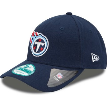 Casquette courbée bleue marine ajustable 9FORTY The League Tennessee Titans NFL New Era