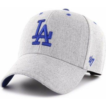 Casquette courbée grise ajustable Los Angeles Dodgers MLB MVP Storm Cloud 47 Brand