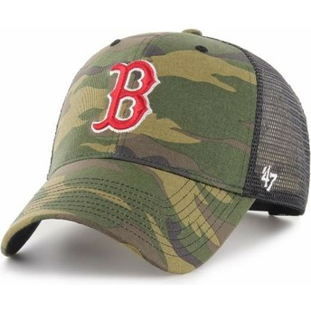 Casquette trucker camouflage Boston Red Sox MLB MVP Branson 47 Brand
