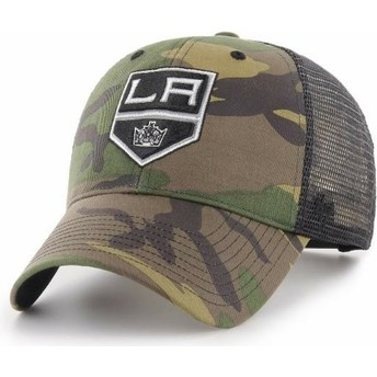 Casquette trucker camouflage Los Angeles Kings NHL MVP Branson 47 Brand