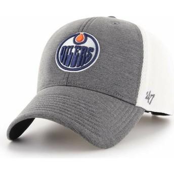 Casquette courbée grise Edmonton Oilers NHL MVP Haskell 47 Brand