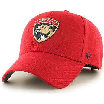 Casquette courbée rouge Florida Panthers NHL MVP 47 Brand