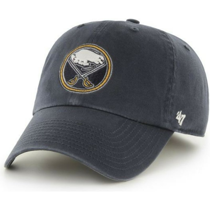 casquette-courbee-bleue-marine-buffalo-sabres-nhl-clean-up-47-brand