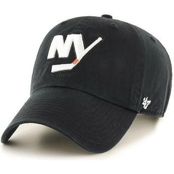 Casquette courbée noire New York Islanders NHL Clean Up 47 Brand
