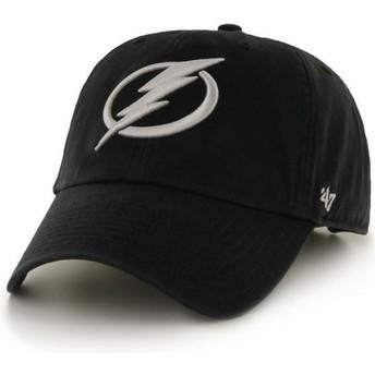 Casquette courbée noire Columbus Blue Jackets NHL Clean Up 47 Brand