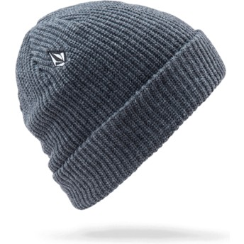 Bonnet gris Full Stone Charcoal Heather Volcom