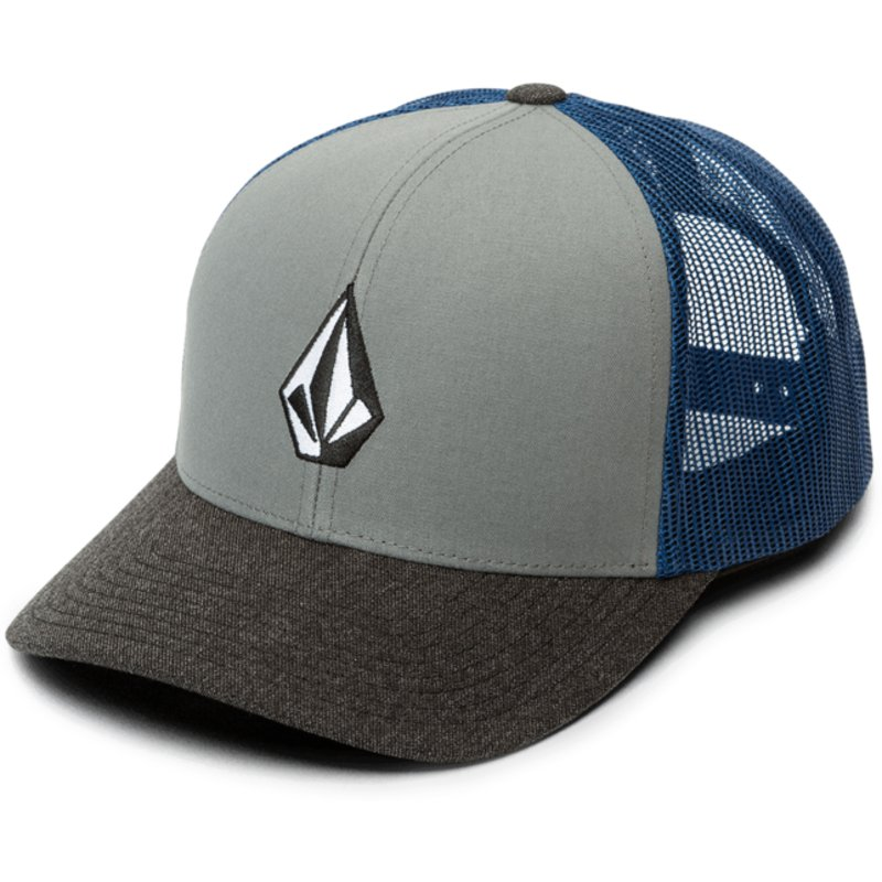casquette-trucker-bleue-full-stone-cheese-used-blue-volcom