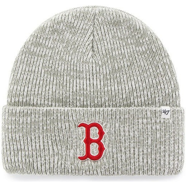 bonnet-gris-boston-red-sox-mlb-cuff-knit-brain-freeze-47-brand