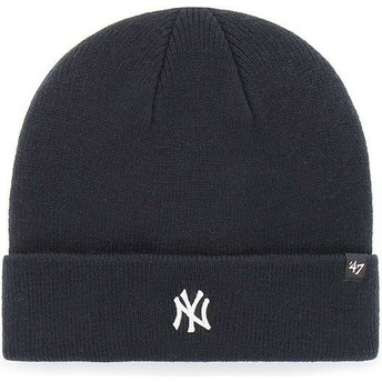 Bonnet bleu marine New York Yankees MLB Cuff Knit Centerfield 47 Brand