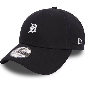 Casquette courbée noire ajustée 39THIRTY Mini Logo Detroit Tigers MLB New Era