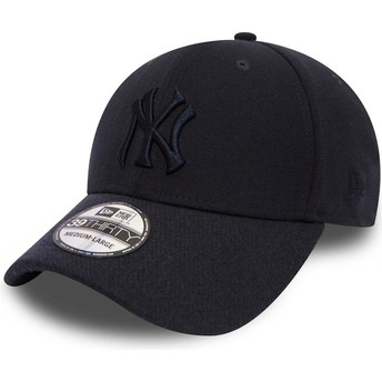 Casquette courbée bleue marine ajustée avec logo bleu marine 39THIRTY Club Coop New York Yankees MLB New Era