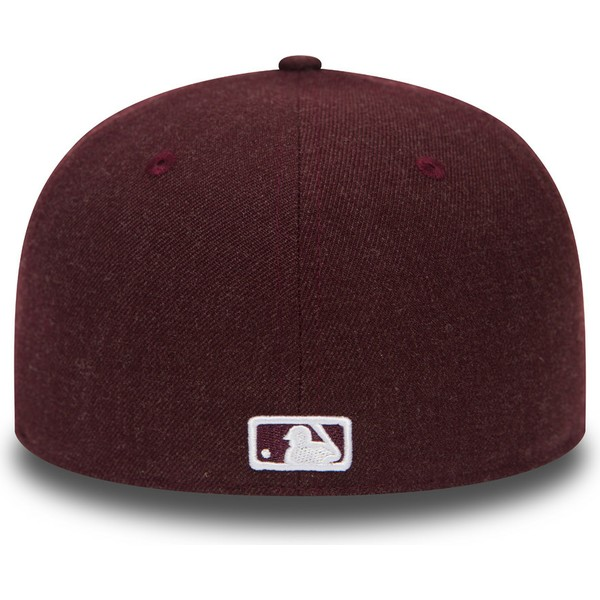 casquette-plate-violette-ajustee-59fifty-seasonal-heather-boston-red-sox-mlb-new-era