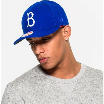 Casquette courbée bleue ajustée 59FIFTY Relocation Brooklyn Dodgers MLB New Era