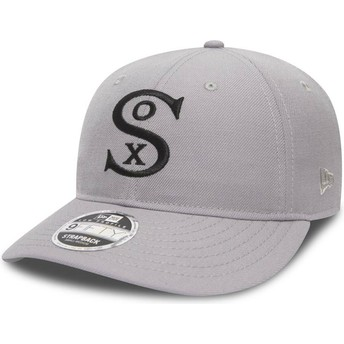 Casquette courbée grise ajustable 9FIFTY Low Profile City Series Chicago White Sox MLB New Era