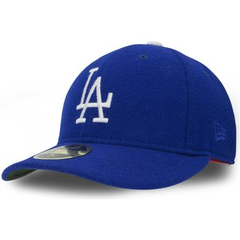 Casquette courbée bleue ajustée 59FIFTY Relocation Los Angeles Dodgers MLB New Era