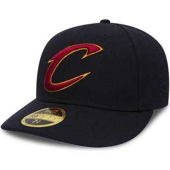 Casquette courbée noire ajustée 59FIFTY Low Profile Team Classic Cleveland Cavaliers NBA New Era