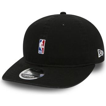 Casquette courbée noire ajustable pour enfant 9FIFTY Low Profile Logo NBA New Era