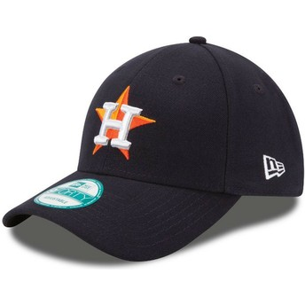 Casquette courbée noire ajustable 9FORTY The League Houston Astros MLB New Era