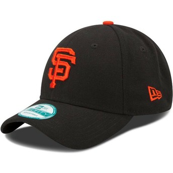 Casquette courbée noire ajustable 9FORTY The League San Francisco Giants MLB New Era