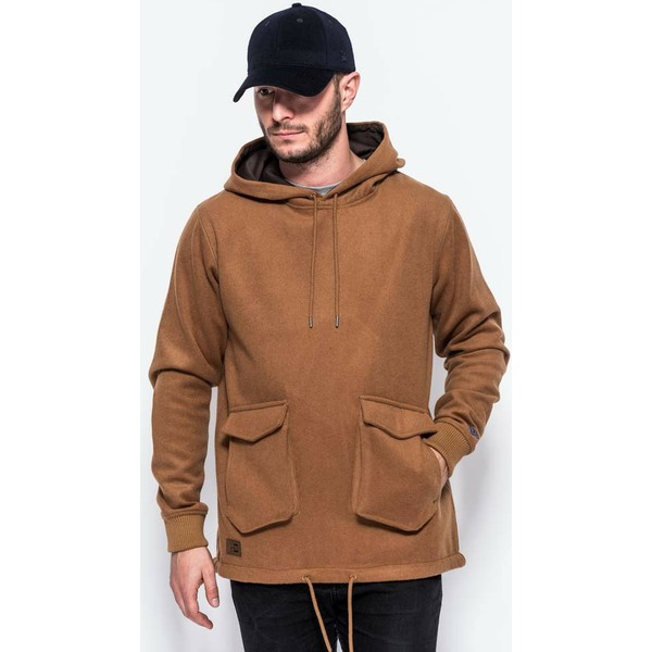 sweat-a-capuche-marron-pullover-hoody-premium-classics-new-era
