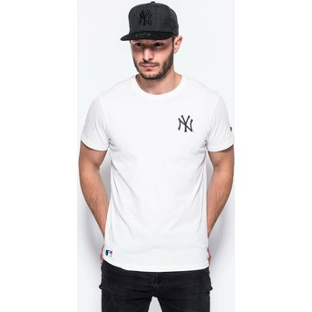 T-shirt à manche courte blanc East Coast Graphic New York Yankees MLB New Era