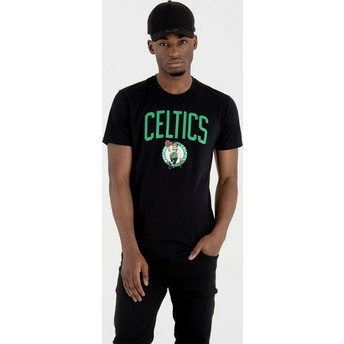 T-shirt à manche courte noir Boston Celtics NBA New Era
