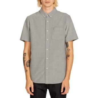 Chemise à manche courte grise Everett Oxford Black Volcom