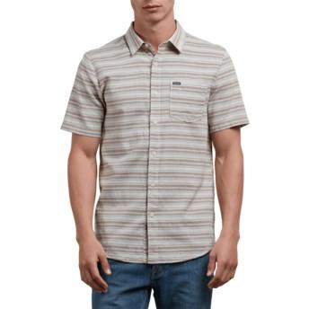 Chemise à manche courte grise Sable Clay Volcom