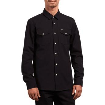 Chemise à manche longue noire Hayes Black Volcom