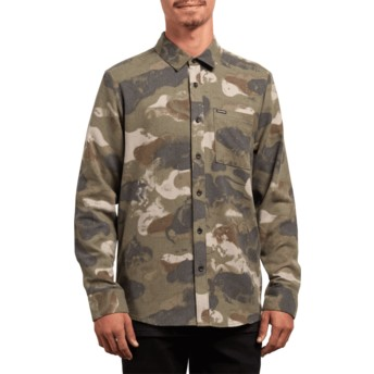 Chemise à manche longue camouflage Dragstone Camouflage Volcom