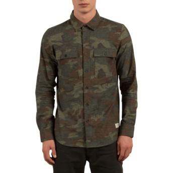 Chemise à manche longue camouflage Woodland Camouflage Volcom