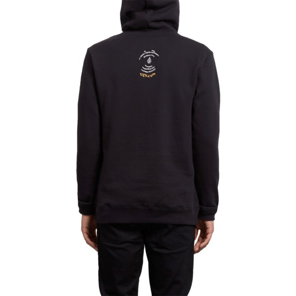 sweat-a-capuche-noir-reload-black-out-volcom