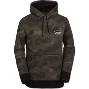 Sweat à capuche camouflage Shop Camouflage Volcom