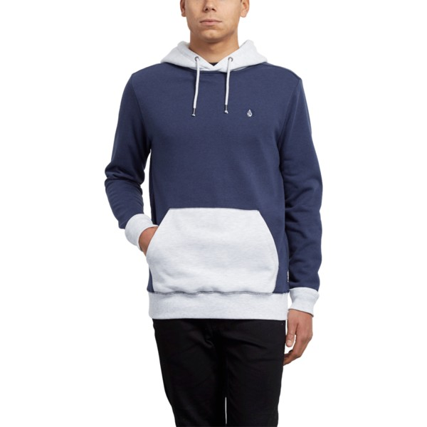 sweat-a-capuche-bleu-et-blanc-single-stone-division-deep-blue-volcom