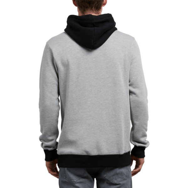 sweat-a-capuche-gris-et-noir-single-stone-division-grey-volcom