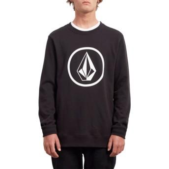 Sweat-shirt noir Stone Black Volcom