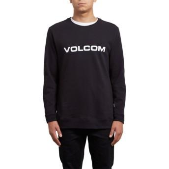 Sweat-shirt noir Imprint Black Volcom