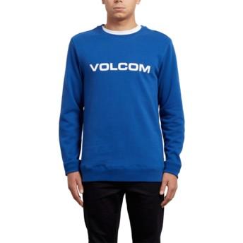 Sweat-shirt bleu Imprint Camper Blue Volcom