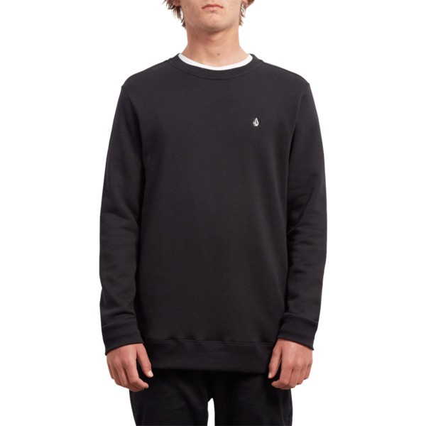 sweat-shirt-noir-single-stone-black-volcom