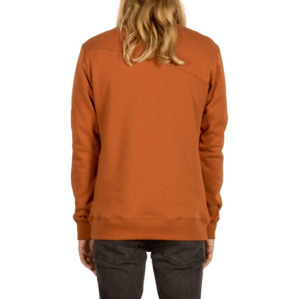 sweat-shirt-marron-single-stone-copper-volcom