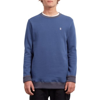 Sweat-shirt bleu Single Stone Matured Blue Volcom