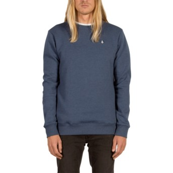 Sweat-shirt bleu Single Stone Smokey Blue Volcom